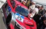 Audi Race Experience R8 LMS ultra auf dem Grid (Bild Harald Gallinnis)