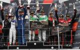 Am-Podium in Barcelona - Foto: Rinaldi Racing