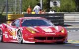 Luxury-Racing Ferrari in Le Mans