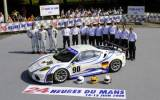 Das Team bei den 24h Le Mans