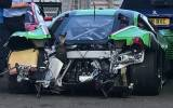 Rinaldi Ferrari nach dem Crash - Bild: Pierre Ehret