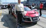 Pierres Audi at the Nürburgring (Picture by Thomas Bauer)