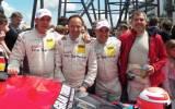 Christain Bollrath, Marco Werner, Peter Vann und Pierre Ehret, (Bild: Harald Gallinnis)