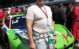 Pierre Ehret on the grid of the 24h at the Nürburgring - picture by Harald Gallinnis