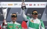 Rinio Mastronardi und Pierre Ehret auf Rang 1 in Silverstone - Bild: Oliver Beroud