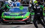Rinaldi Ferrari in the pitlane - Photo by Dirk Bogaerts (SRO)